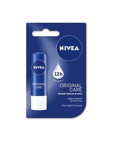 Nivea NIVEA Dudak Bakım Kremi 5.5 ml - Original Care, Yoğun Bakım ve Korum Renksiz